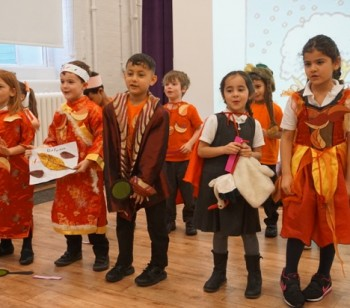 Ambler sees four seasons in a day during Year One assembly
