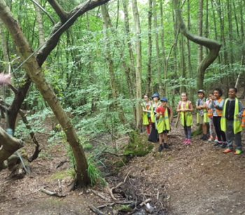 Ambler children go on residential retreat to learn outside the classroom