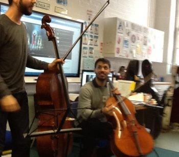 Ambler pupils paid special visit by cellists from the 'Worshipful Company of Musicians'