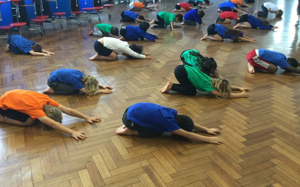 Ambler pupils love learning about yoga and mindfulness in