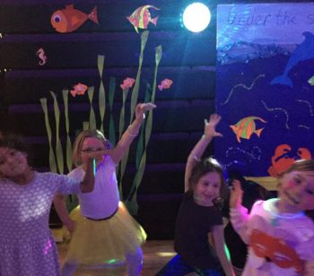 Ambler's discos, held 'Under the Sea,' are a shining success