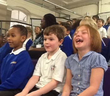 Science Museum pays Ambler pupils a visit with spectacular show